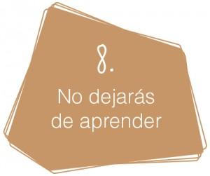Decálogo del diseñador de interiores comerciales: 8. No dejarás de aprender.