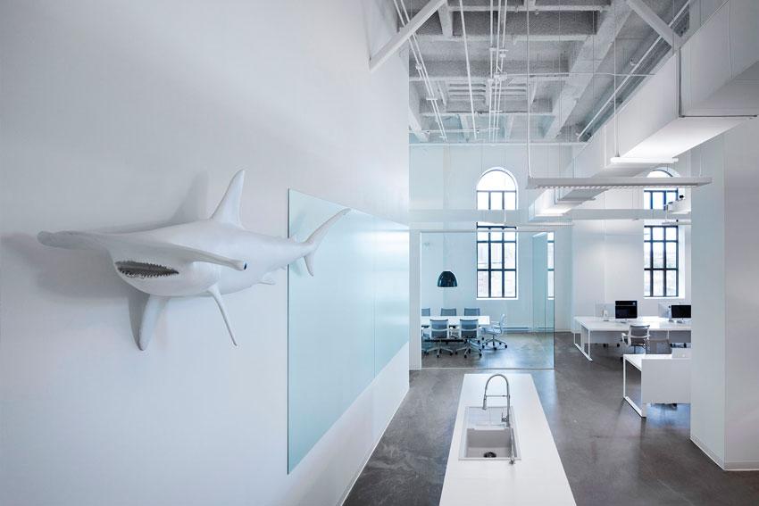 Decoración de oficinas.