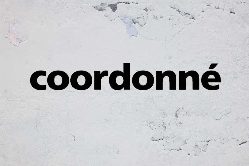 Marca barcelonesa de papel como tipo de revestimiento Coordoné.