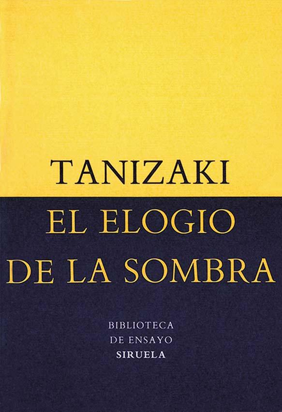 """Libro titulado """"El elogio de la sombra"""" que habla de las sutilezas de la iluminación."""