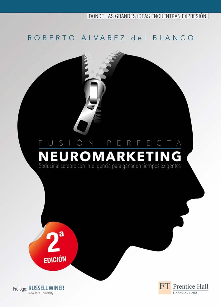 "Portada del libro ""Neuromarketing. Fusión Perfecta"""
