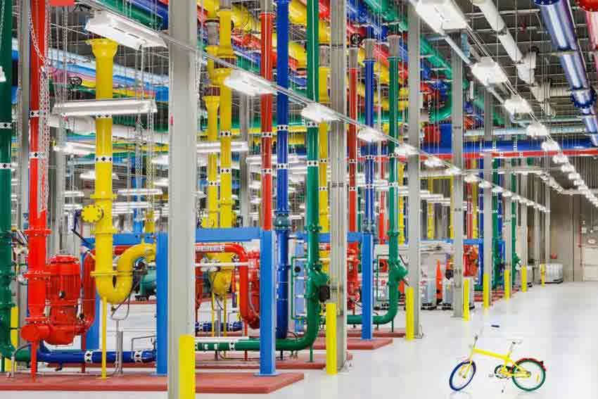 Instalaciones de Google.