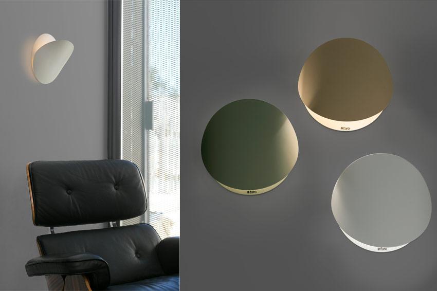 Luminaria modelo Ovo de la marca Faro Barcelona.
