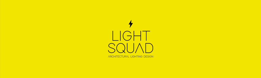 Logo de la empresa de iluminación arquitectónica Light Squad.