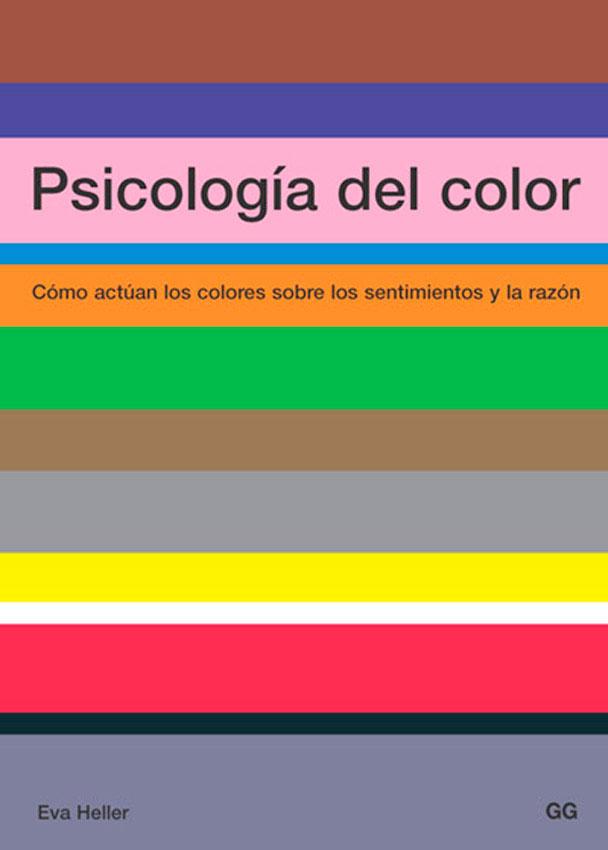 Libro sobre los efectos del color en la psicología de las personas
