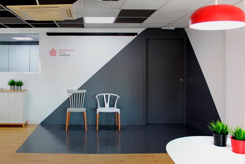 Resultado final de la reforma de unas oficinas en Alicante.