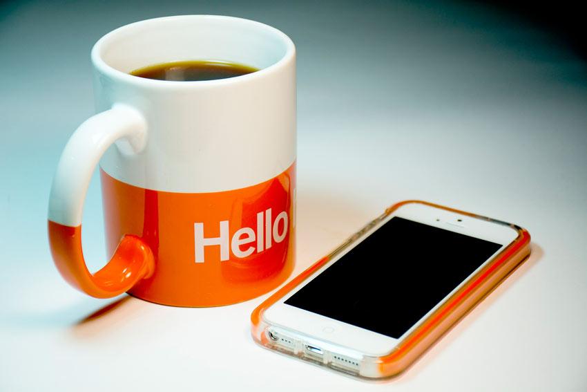 Sé amable cuando te dirijas a una empresa para solicitarle información o sus catálogos.
