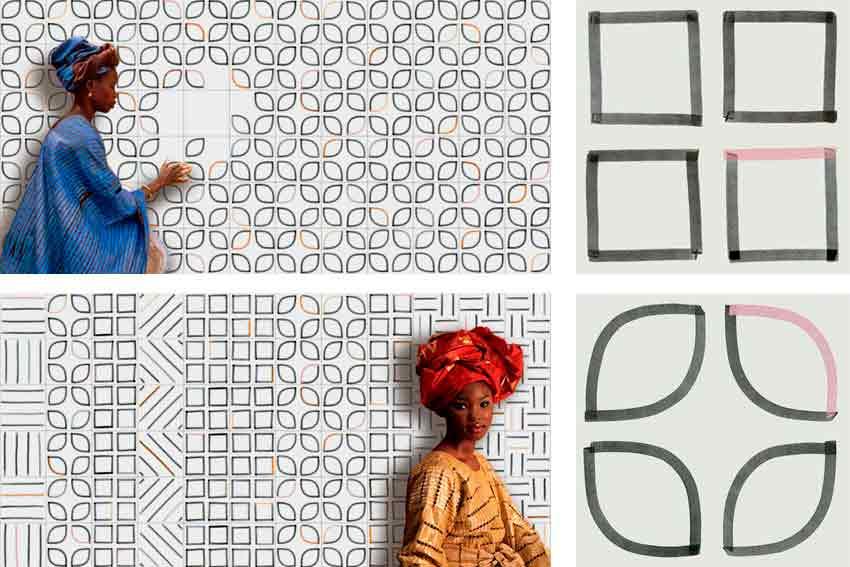Serie Satinados de la marca de azulejos Vives Azulejos y Gres.