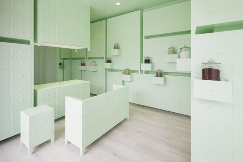 Utilización de los colores en una clínica.