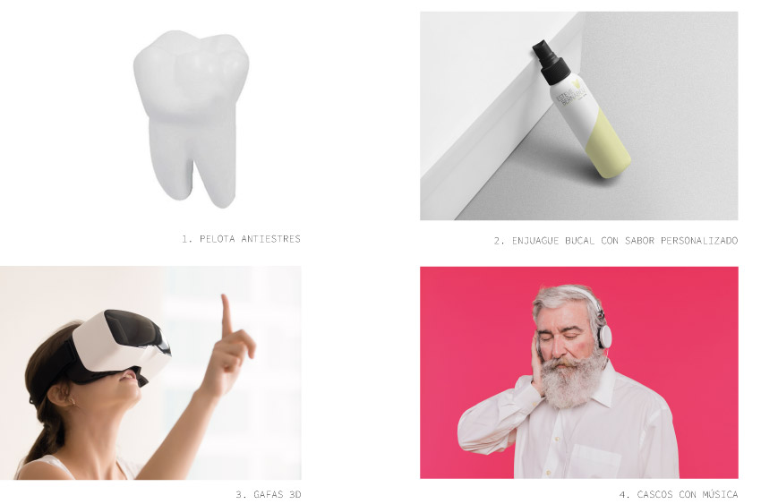 Servicios de los que puede disfutar el cliente durante el tratamiento en la Clínica Dental Esteve Bernabéu ubicada en Petrer(Alicante).